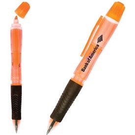 Neon Tri-Twist Pen/Pencil/Highlighter for Your Organization