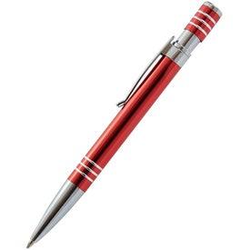 Company Newport Metal Push Action Pen