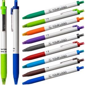 Paper Mate InkJoy 300 RT Ball Pen (White)