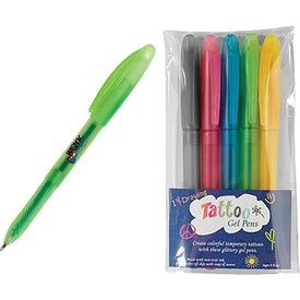 Tattoo Gel Pen 5-Pack for Your Church