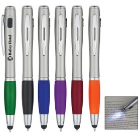 Pen with LED Light and Stylus
