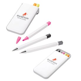 Pen Pencil and Highlighter Set