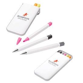 Pen Pencil and Highlighter Set