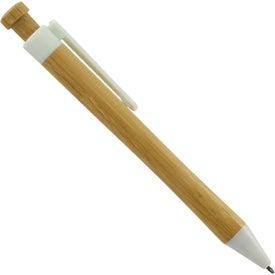 Logo Peoria Bamboo Pen