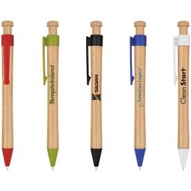 Custom Peoria Bamboo Pen
