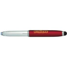 Plastic LED Stylus Pen
