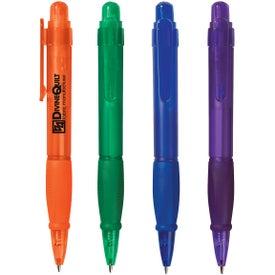 Plastic Tri-grip Pen