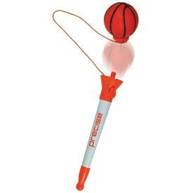 Pop Top Basketball Pen