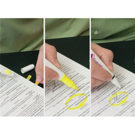 Post-it Trio Series Flag-Highlighter-Pen Combo Printed with Your Logo