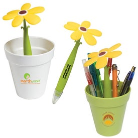 Branded Potted Pen