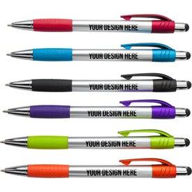 Imprinted Premium Pen with Stylus Tip