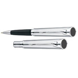 Quill 1250 Compact Ball Pen with a Clip for Advertising