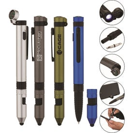 Rainier Utility Pen with Stylus