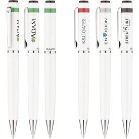 RAZR Berkley Ballpoint Pen Imprinted with Your Logo