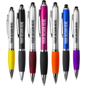 Satin Stylus Pen Imprinted with Your Logo