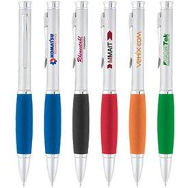 Satin Silver Snuggle Pen