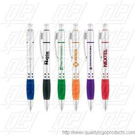 Satin Silver Contemporary Pen