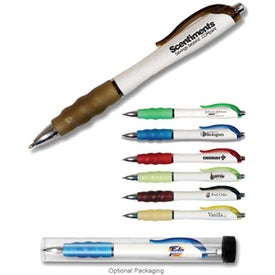 Scent-Sational Grip Pen Printed with Your Logo