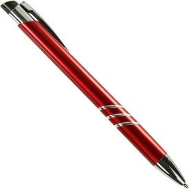 Branded Seattle Plastic Pen