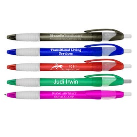 Silhouette Retractable Ballpoint Pen