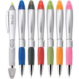 Silver Blossom Pen/Highlighter