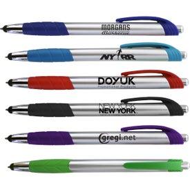 Silver Merit Pen Stylus