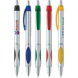 Silver Spot Pen