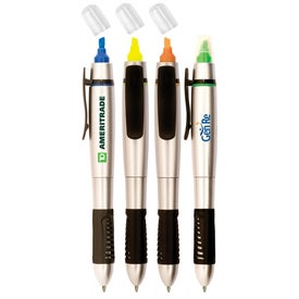 Printed Silver Springs Pen/Highlighter