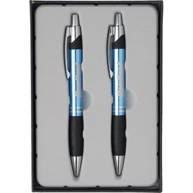 Branded Sleek Pen and Pencil Gift Set