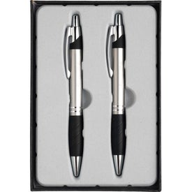 Sleek Pen and Pencil Gift Set with Your Logo