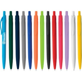 Sleek Write Rubberized Pens (Screen Print)