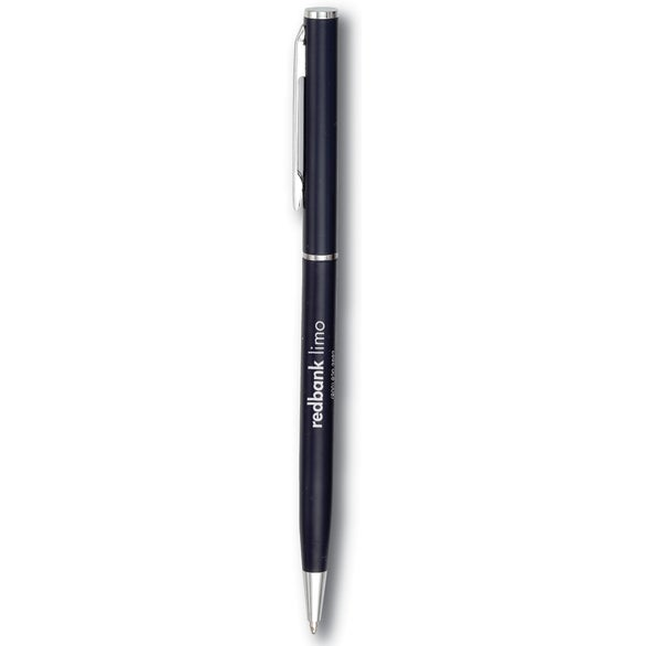 Blue Slim Twist Pen