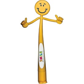Smiley Bend-A-Pen (Full Color)