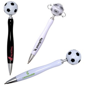 Soccer Spinner Ball Pen