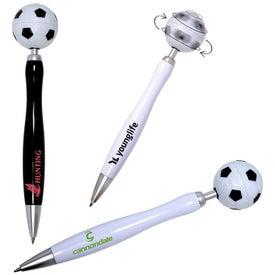 Soccer Spinner Ball Pen
