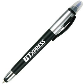 Company Sole Pen and Highlighter with Stylus