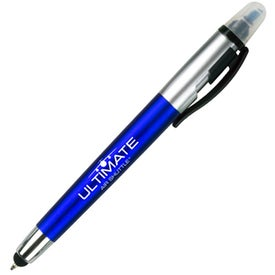 Sole Pen and Highlighter with Stylus for Promotion
