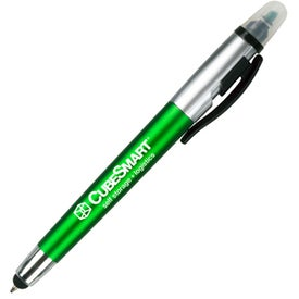 Sole Pen and Highlighter with Stylus for Customization