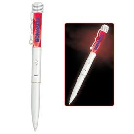 Personalized Spiral Light LED Illuminating Pen