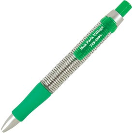 Springer Click Pen Imprinted with Your Logo