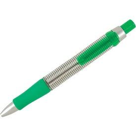 Monogrammed Springer Click Pen