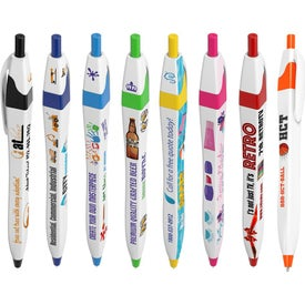 Squared Slimster Pen (Full Color)