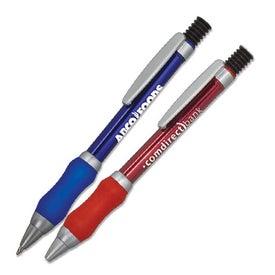 Squishy Grip Metal Pen