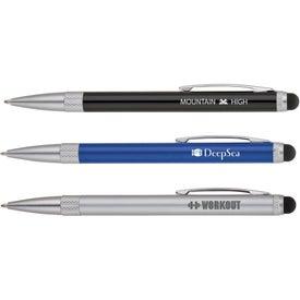 Stainless Steel Ballpoint Pen Stylus