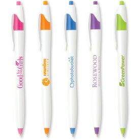 Stratus White Brights Pens