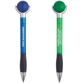 Promotional Stress Ball Pen for Advertising