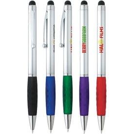 Stylus Grip Pen (Silver)