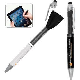 Customized Stylus Pen with Microfiber Cloth