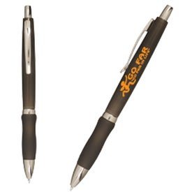 Printed Sure-Grip Click Pen