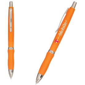 Printed Sure-Grip Click Pen